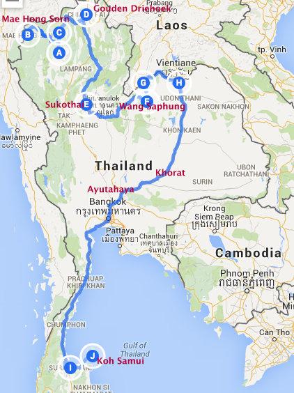 Thailand Compleet NL 145